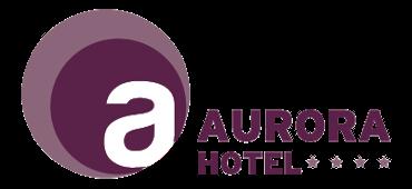 Hotel Aurora**** Miskolctapolca logo színes