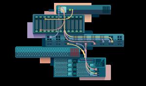 Hálózati eszközök konfigurálása, telepítése, informatikai hálózatok kiépítése és üzemeltetése.